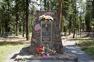 Mitchell Recreation Area - Image: Mitchell Monument; August 12, 2013