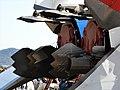 Mitsubishi X-2 thrust vectoring paddle at JASDF Gifu Air Base airshow2019.jpg