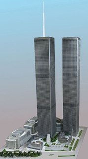 Twin Towers 2 Proposed complex of buildings