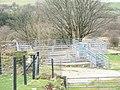 Modern sheepfold at Maesog - geograph.org.uk - 354876.jpg