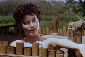 English: Screenshot of Ava Gardner from the tr...