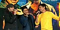 Mohit Chauhan, KK and Shaan performing together.jpg