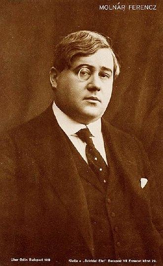 Ferenc Molnár - Portrait of Ferenc Molnár (1918)