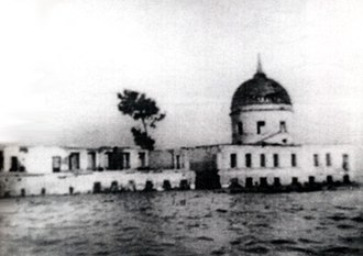 Mologa - Afanasyevsky convent in Mologa being submerged in 1941