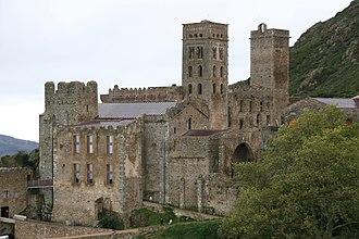 1020s in architecture - Image: Monasterio Sant Pere de Rodes