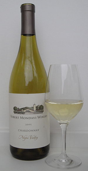 Robert Mondavi - A wine from the Robert Mondavi Winery, a Napa Valley Chardonnay.