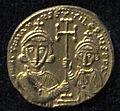 Monete d'oro di giustiniano II e tiberio IV, 705-711, 06, 4.jpg