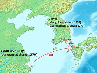 Mongol invasions of Japan attempts by the Mongol Empire to conquer Japan