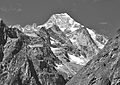 Mont Dolent from Swiss Val Ferret, 2010 August, bw 2.JPG
