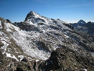 Monte Clapier mountain in Italy