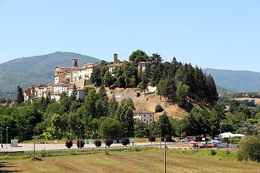 Monterchi, veduta