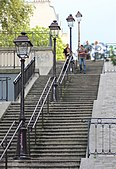Stair in Montmartre