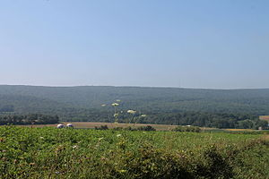 Montour County, Pennsylvania - Montour Ridge in Liberty Township, Montour County