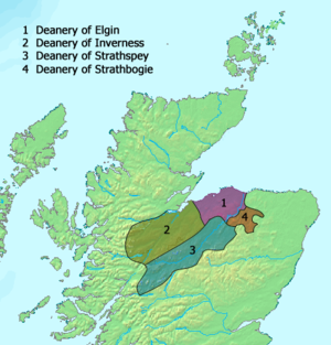 Diocese of Moray - The deaneries of Moray