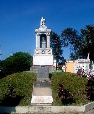Francisco Morazán - Francisco Morazán's Tomb at Cemetery of the illustrious in San Salvador