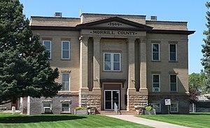 National Register of Historic Places listings in Morrill County, Nebraska - Image: Morrill County, Nebraska courthouse from SE 2