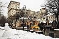 Moscow, Bolshoy Tolmachevsky Lane and the Sredmash Building (25444791934).jpg