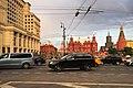 Moscow, Manezhnaya Square traffic in May 2016 (31022640090).jpg
