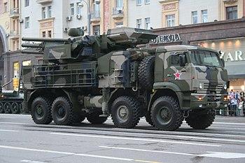 Панцирь-С1 на 8x8 шасси КАМАЗ-6560