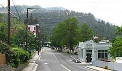 Mosier, Oregon.