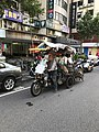 Motorized Tricycle Parkd with Craft at Section 5, Minsheng Road Taipei 20171101.jpg