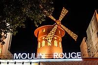 Moulin Rouge at night, Paris 12 August 2013.jpg
