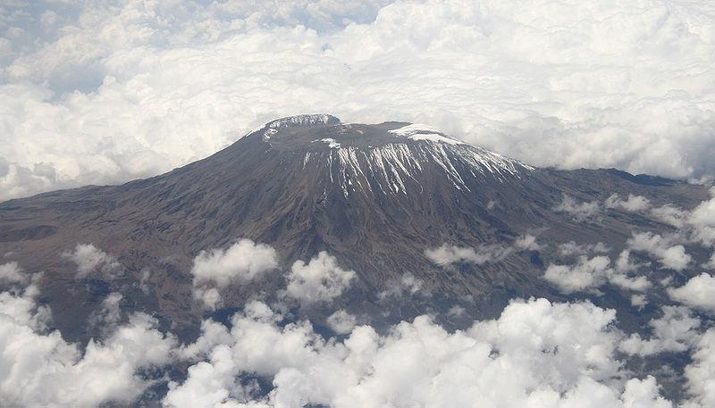 Gunung Kilimanjaro di Tanzania