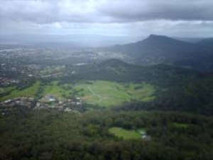Mount Kembla - The suburb of Mount Kembla viewed from Mount Keira