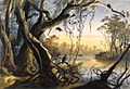 Mouth of Fox River. Tableau 5 by Sigismond Himely after Karl Bodmer.jpg