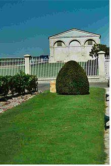 Château Mouton Rothschild, Garten