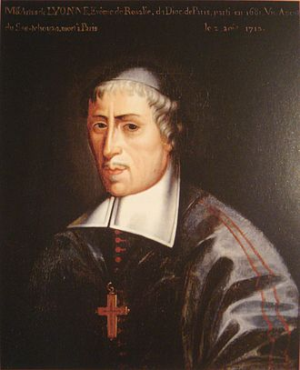 Artus de Lionne - Artus de Lionne, as Bishop of Rosalie.