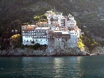Mt Athos monasteries 20 (7698167298).jpg