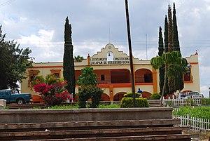 English: Municpal Palace of Cuilapam de Guerre...