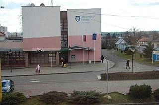 Sečovce Town in Slovakia