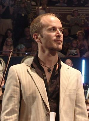 Doctor Who Prom (2008) - Composer Murray Gold at the concert