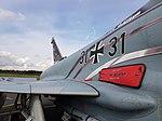 "Nörvenich Air Base Eurofighter Typhoon Luftwaffe 31+31 ""Spirit of Oswald Boelcke"" (44418950101).jpg"