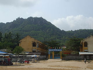 Óc Eo Commune in An Giang Province, Vietnam