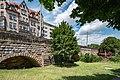 Nürnberg, Stadtbefestigung, Westtorgraben, Äußere Futtermauer 20170616 003.jpg