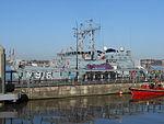 NATO ships at Liverpool Cruise Terminal - 2013-04-06 (10).JPG