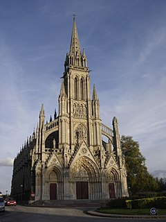 Bonsecours Commune in Normandy, France