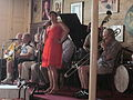 NO Trad Jazz Camp 2012 Palm Court Ms Claudia.JPG