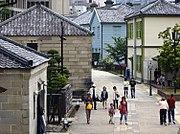 Scene in the modern reconstruction of Dejima