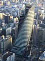 Nagoya Mode Academy Spiral Towers from JR Central Towers.JPG