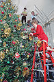 Nancy Reagan tree trimming.jpg