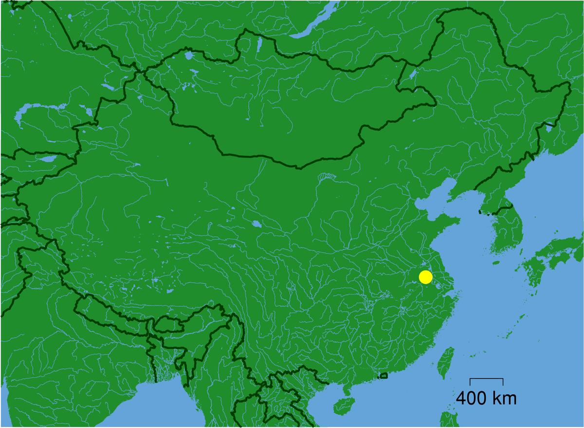 Yellow Sea Location Nanjing - Simpl...