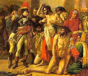 Bonaparte Visiting the Plague Victims of Jaffa - Image: Napoléon visitant les pestiférés de Jaffa