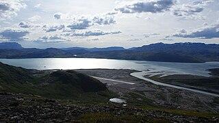 Narsarsuaq Place in Greenland, Kingdom of Denmark