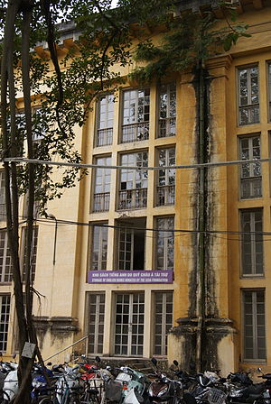 The Asia Foundation - A building used to store English books donated by the Asia Foundation at the National Library of Vietnam