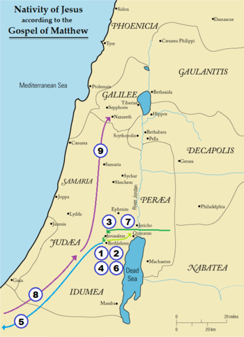 Nativity of Jesus map – Gospel of Matthew.png