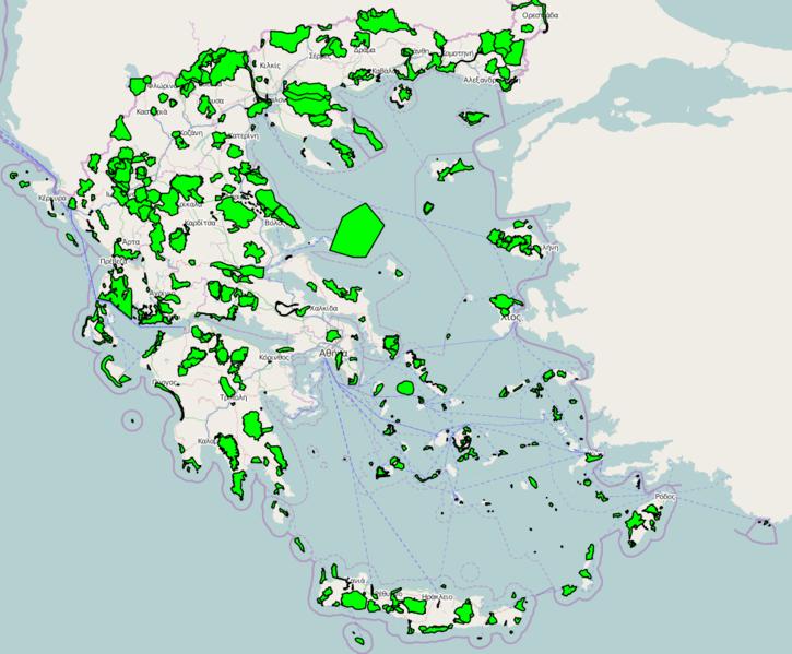 File:Natura 2000 areas in Greece.png